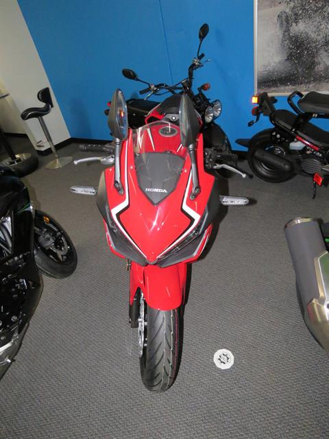 2020 Honda CBR500R ABS in Iowa City, Iowa - Photo 1