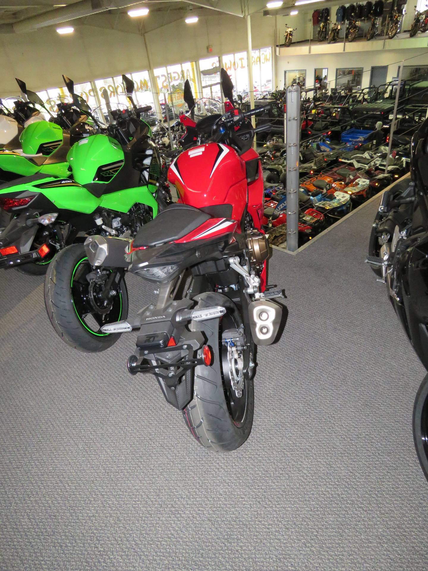 2020 Honda CBR500R ABS in Iowa City, Iowa - Photo 2
