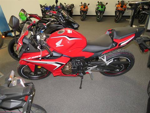 2020 Honda CBR500R ABS in Iowa City, Iowa - Photo 3