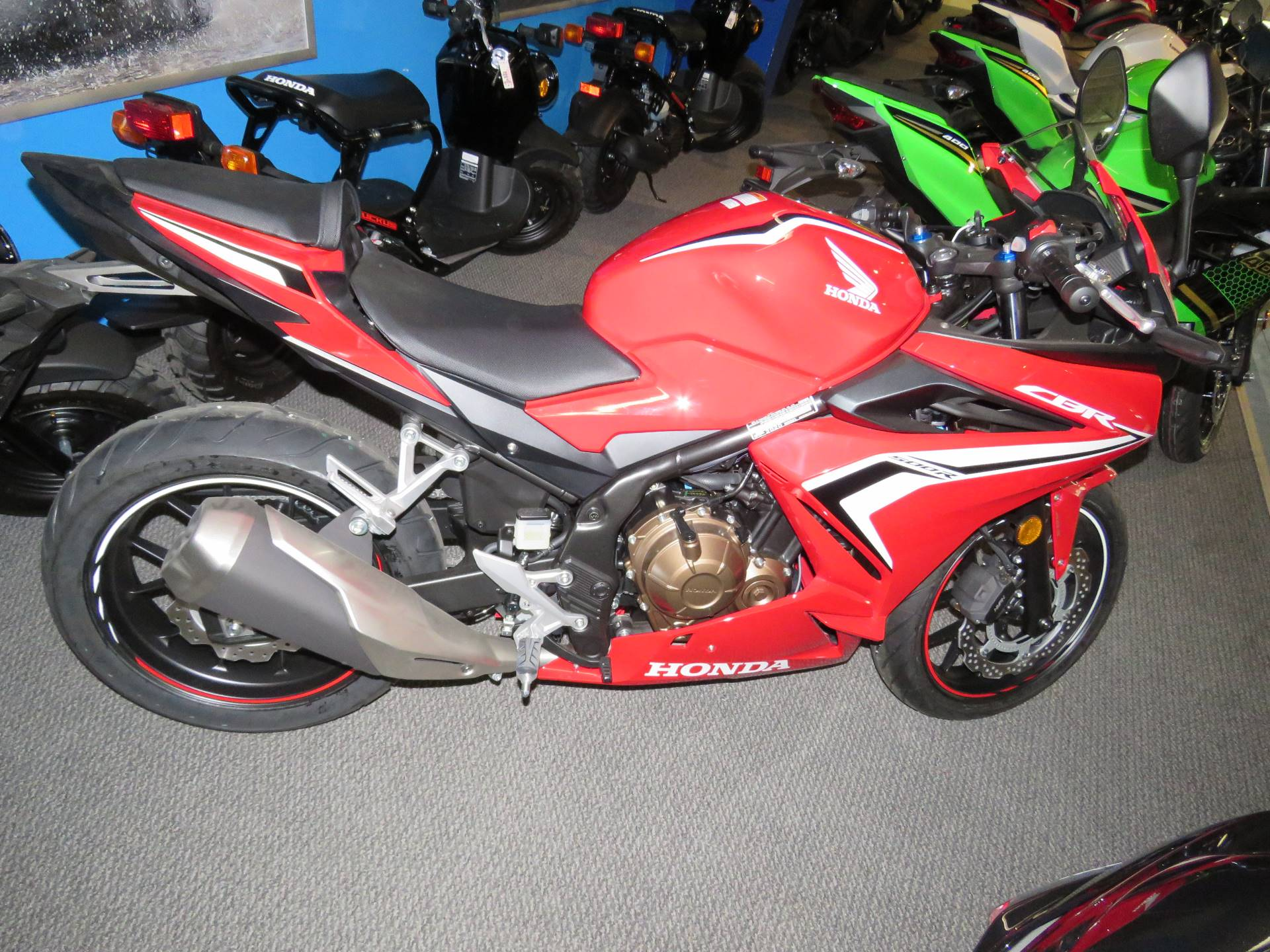 2020 Honda CBR500R ABS in Iowa City, Iowa - Photo 4