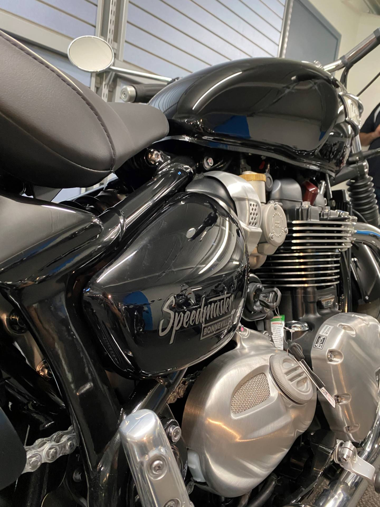 2020 Triumph Bonneville Speedmaster in Iowa City, Iowa - Photo 6