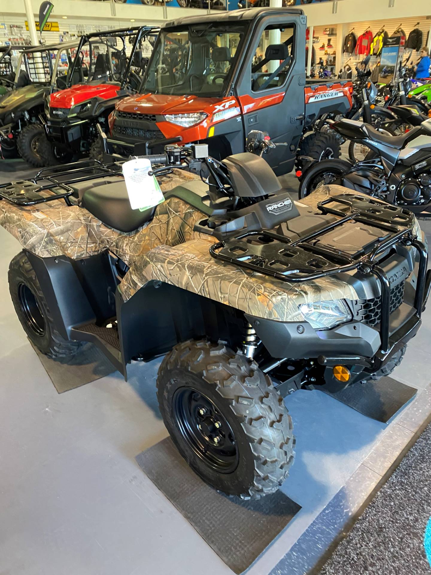 2020 Honda FourTrax Rancher 4x4 Automatic DCT EPS in Iowa City, Iowa - Photo 1