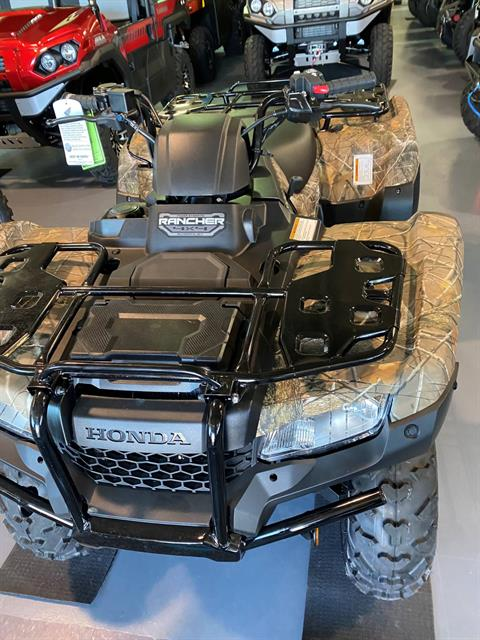 2020 Honda FourTrax Rancher 4x4 Automatic DCT EPS in Iowa City, Iowa - Photo 4