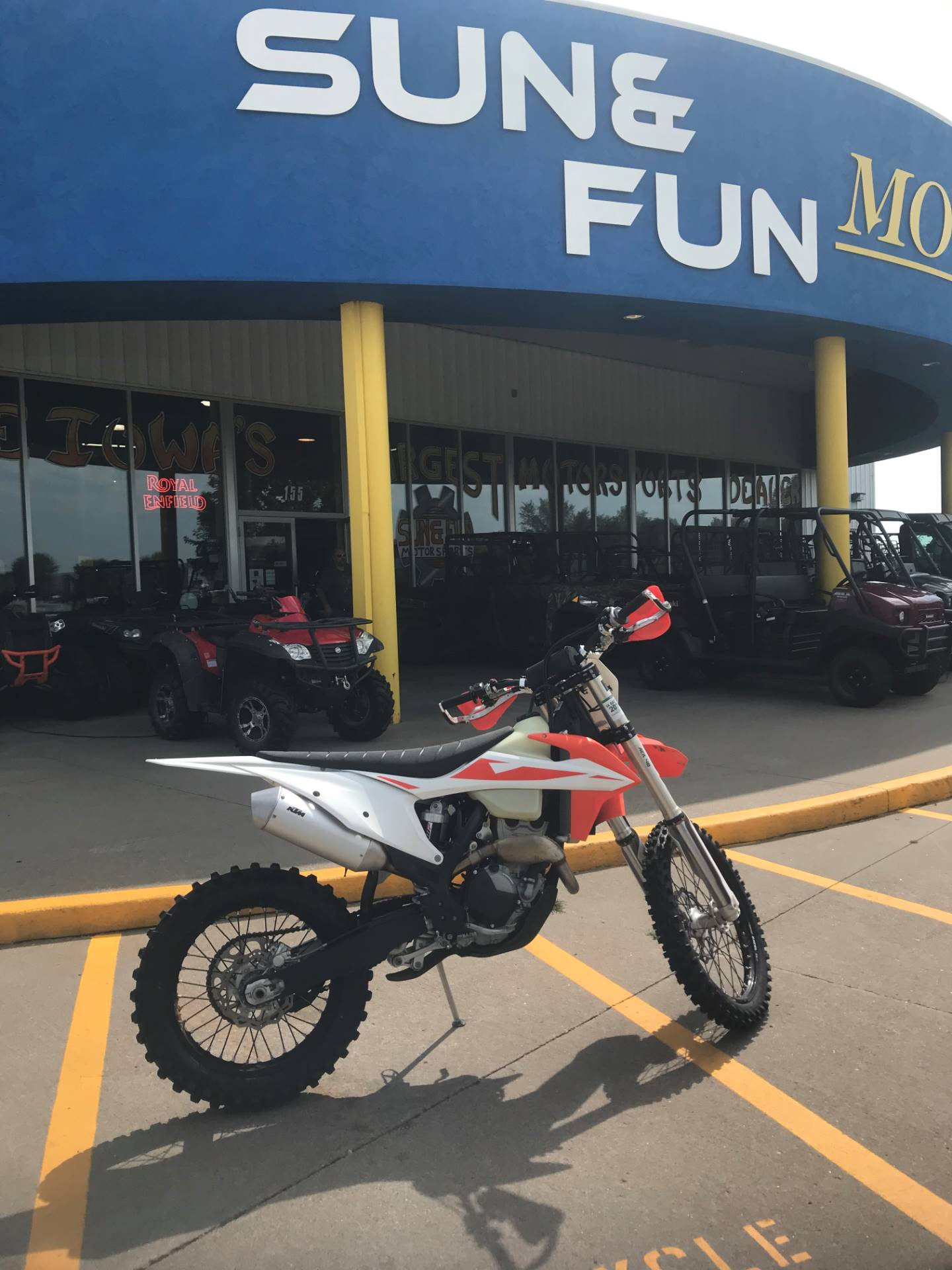 2019 KTM 250 XC-F in Iowa City, Iowa - Photo 1