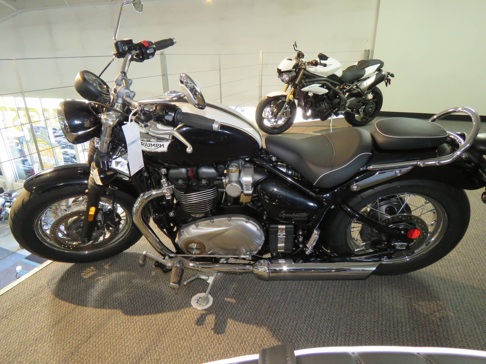 2020 Triumph Bonneville Speedmaster in Iowa City, Iowa - Photo 3