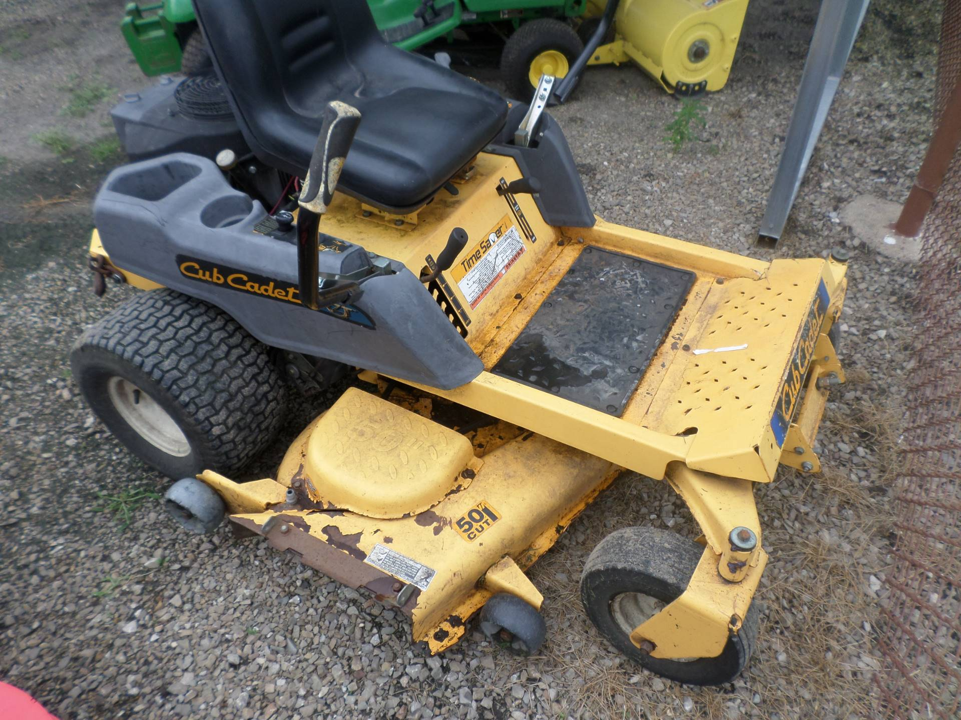 used 2007 cub cadet rzt 50 lawn mowers in lake mills ia stock number 0120. Black Bedroom Furniture Sets. Home Design Ideas