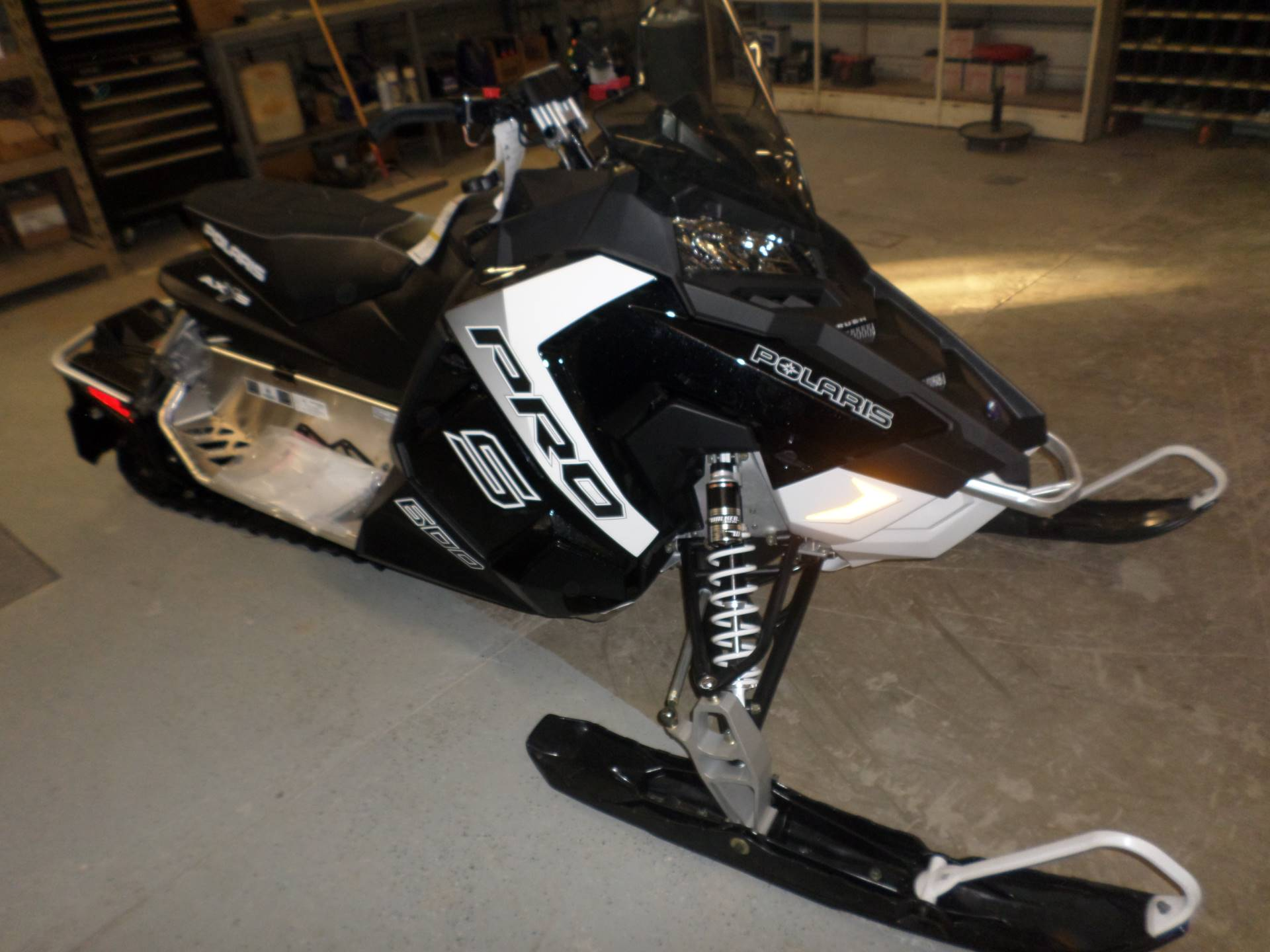 2017 Polaris 600 RUSH PRO-S ES in Lake Mills, Iowa
