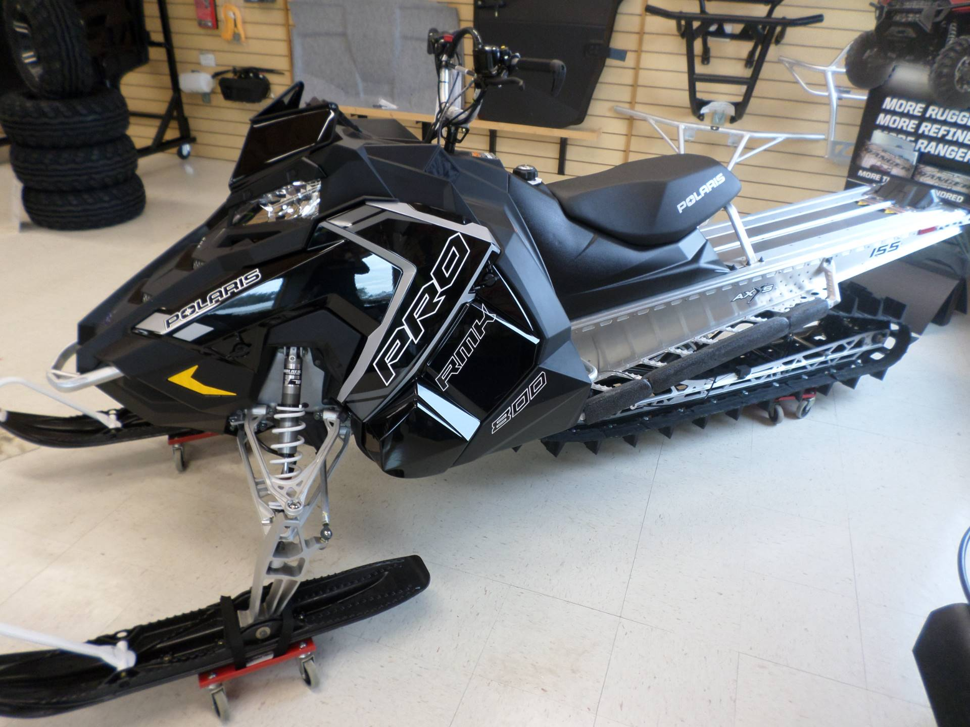 2018 Polaris 800 PRO-RMK 155 in Lake Mills, Iowa