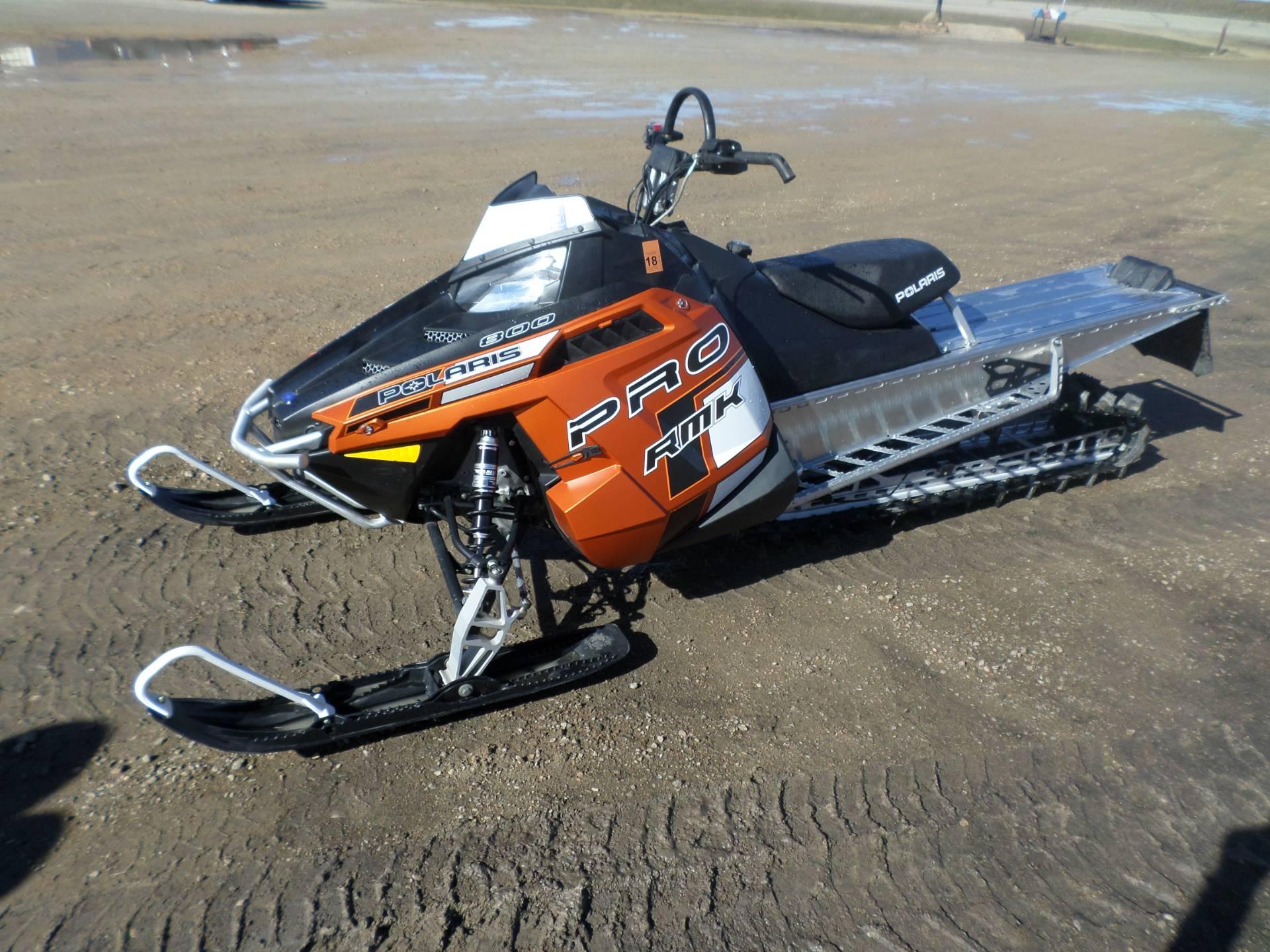 2013 Polaris 800 RMK 155 for sale 5097