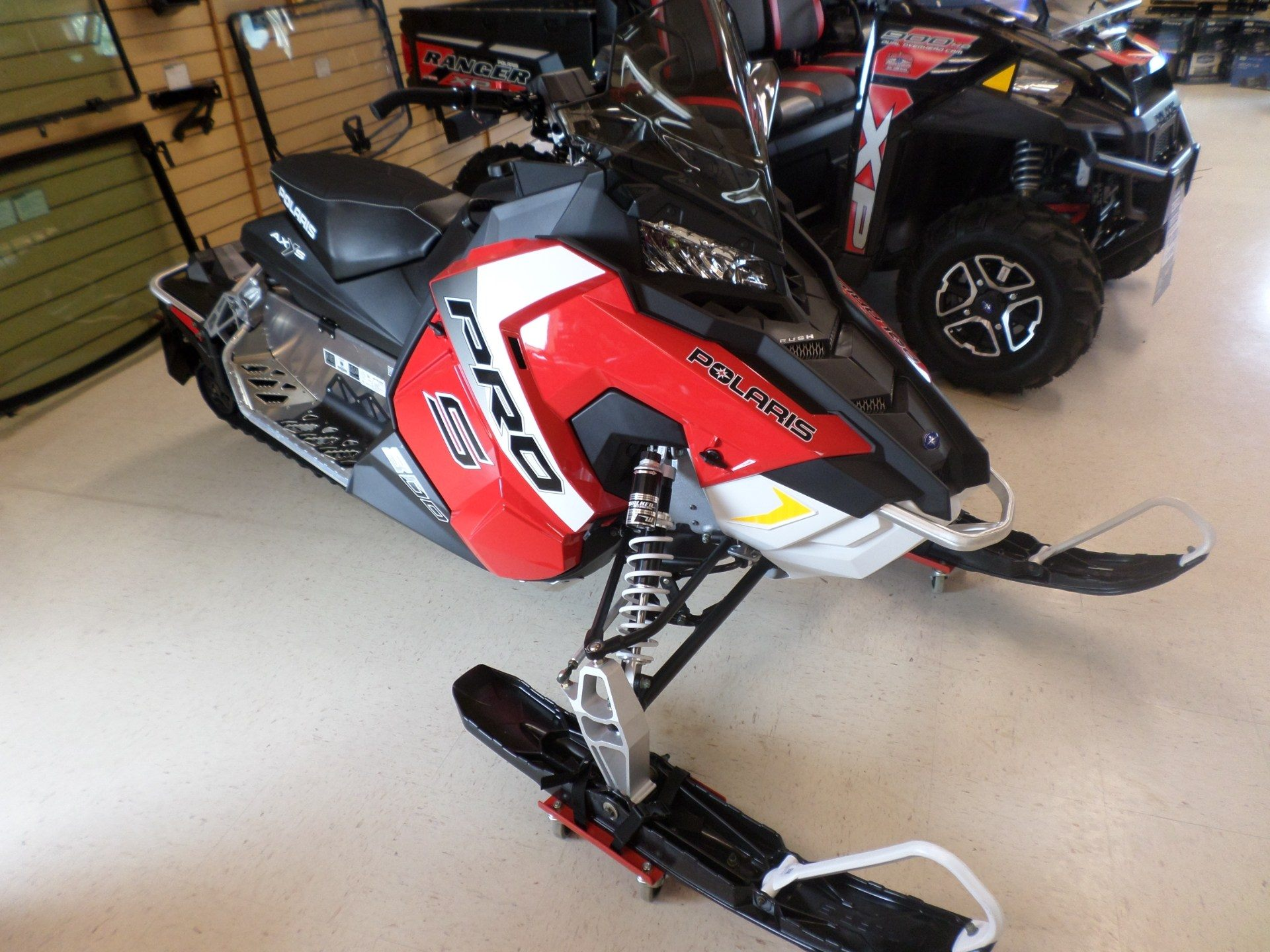 2017 Polaris 800 RUSH PRO-S ES in Lake Mills, Iowa