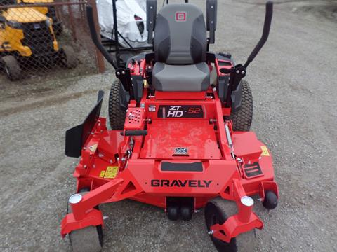 2019 Gravely USA ZT HD 52 in. Kohler Pro Series 25 hp in Lake Mills, Iowa - Photo 2