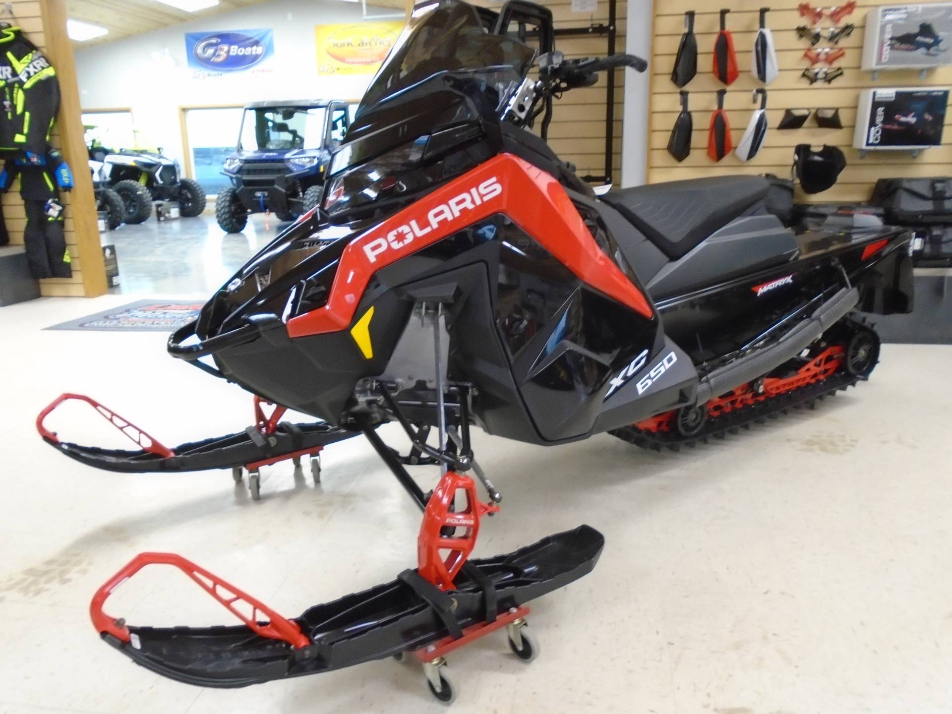 2021 Polaris 650 Indy XC 137 Launch Edition Factory Choice in Lake Mills, Iowa - Photo 1