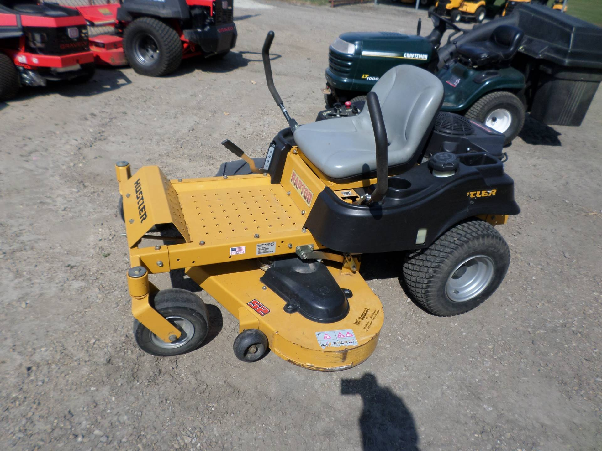 "2015 Hustler Turf Equipment RAPTOR 52"" in Lake Mills, Iowa"