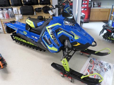 2018 Polaris 800 PRO-RMK 155 3 in. SnowCheck Select in Lake Mills, Iowa