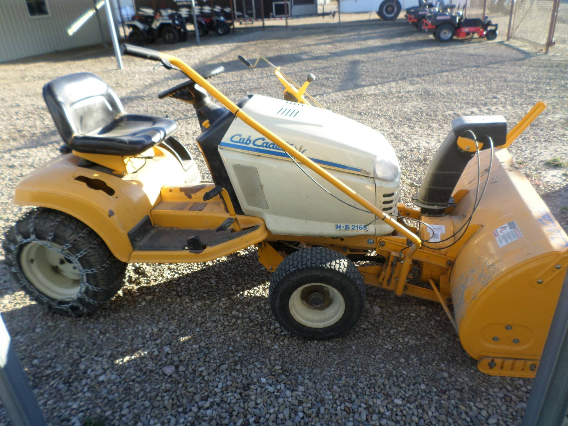 1996 Cub Cadet HDS 2165 in Lake Mills, Iowa