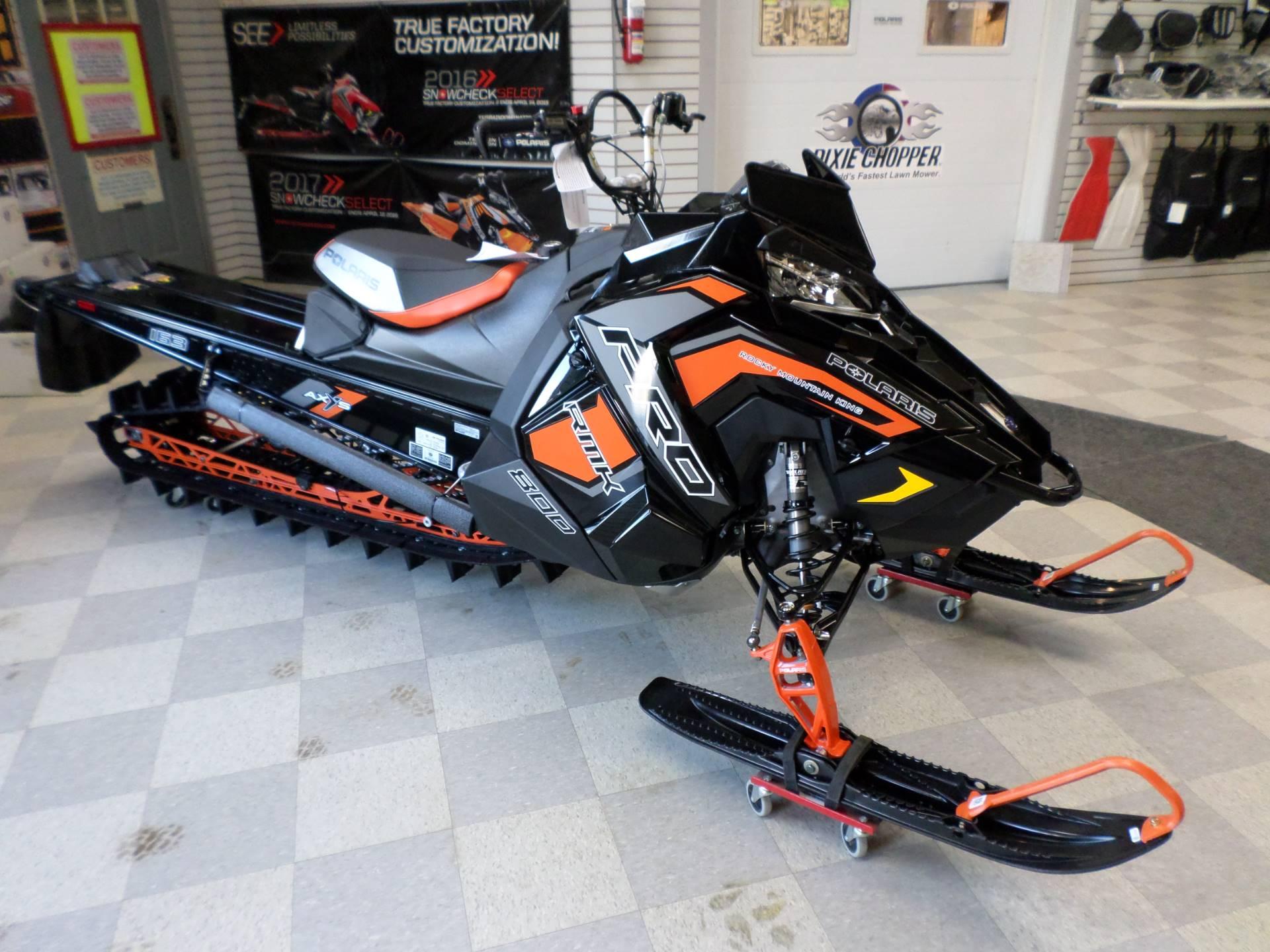 2019 Polaris 800 Pro Rmk 163 Snowcheck Select 3 0 In Lake Mills Iowa