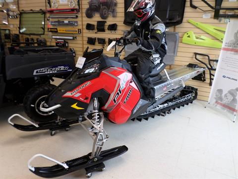 2018 Polaris 800 PRO-RMK 163 in Lake Mills, Iowa
