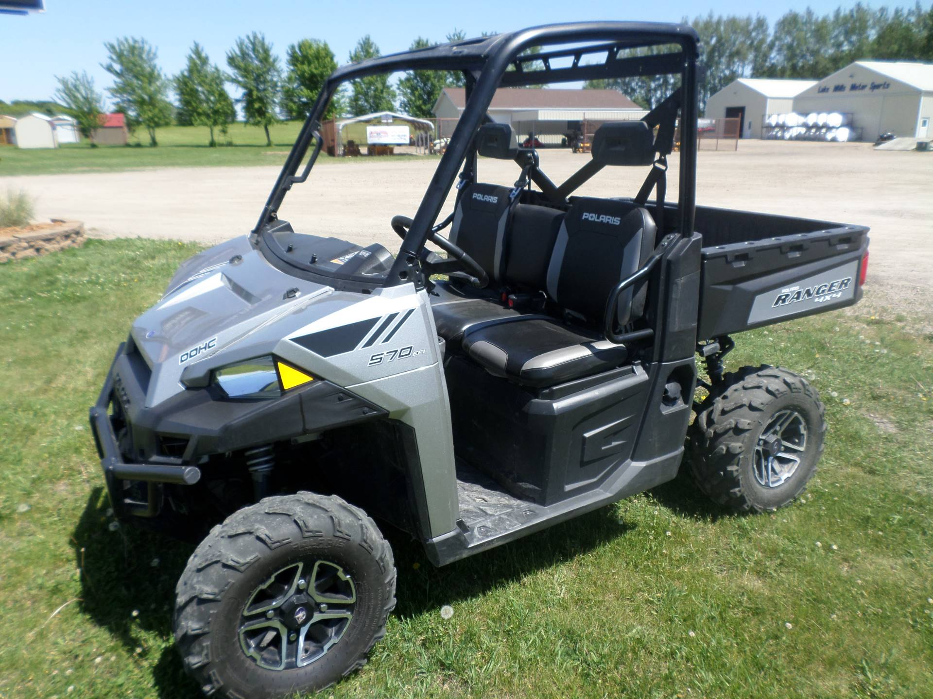 2015 polaris ranger 570 eps full size for sale lake mills. Black Bedroom Furniture Sets. Home Design Ideas