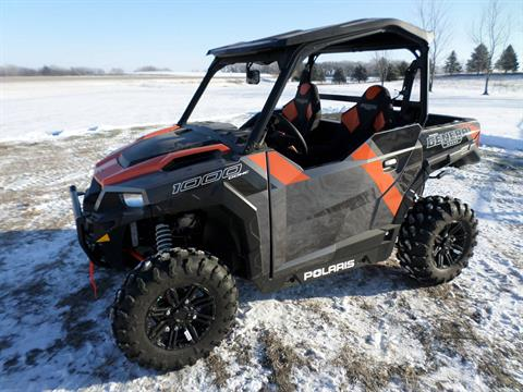 2018 Polaris General 1000 EPS Deluxe in Lake Mills, Iowa