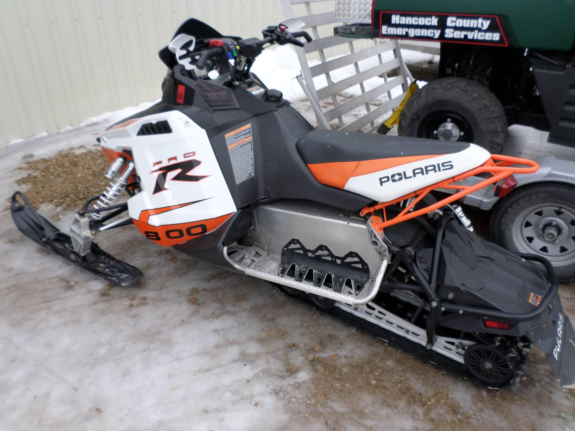 2012 Polaris 800 Rush PRO-R ES SC Black LE 3