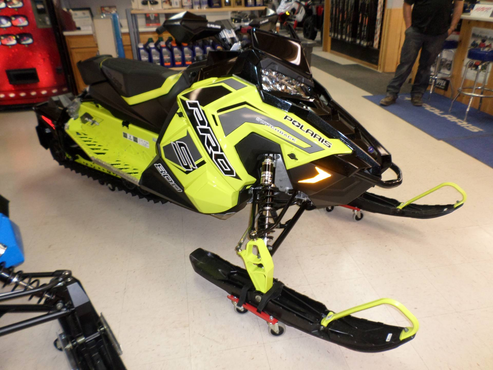 2019 Polaris 800 Switchback Pro-S SnowCheck Select in Lake Mills, Iowa - Photo 3