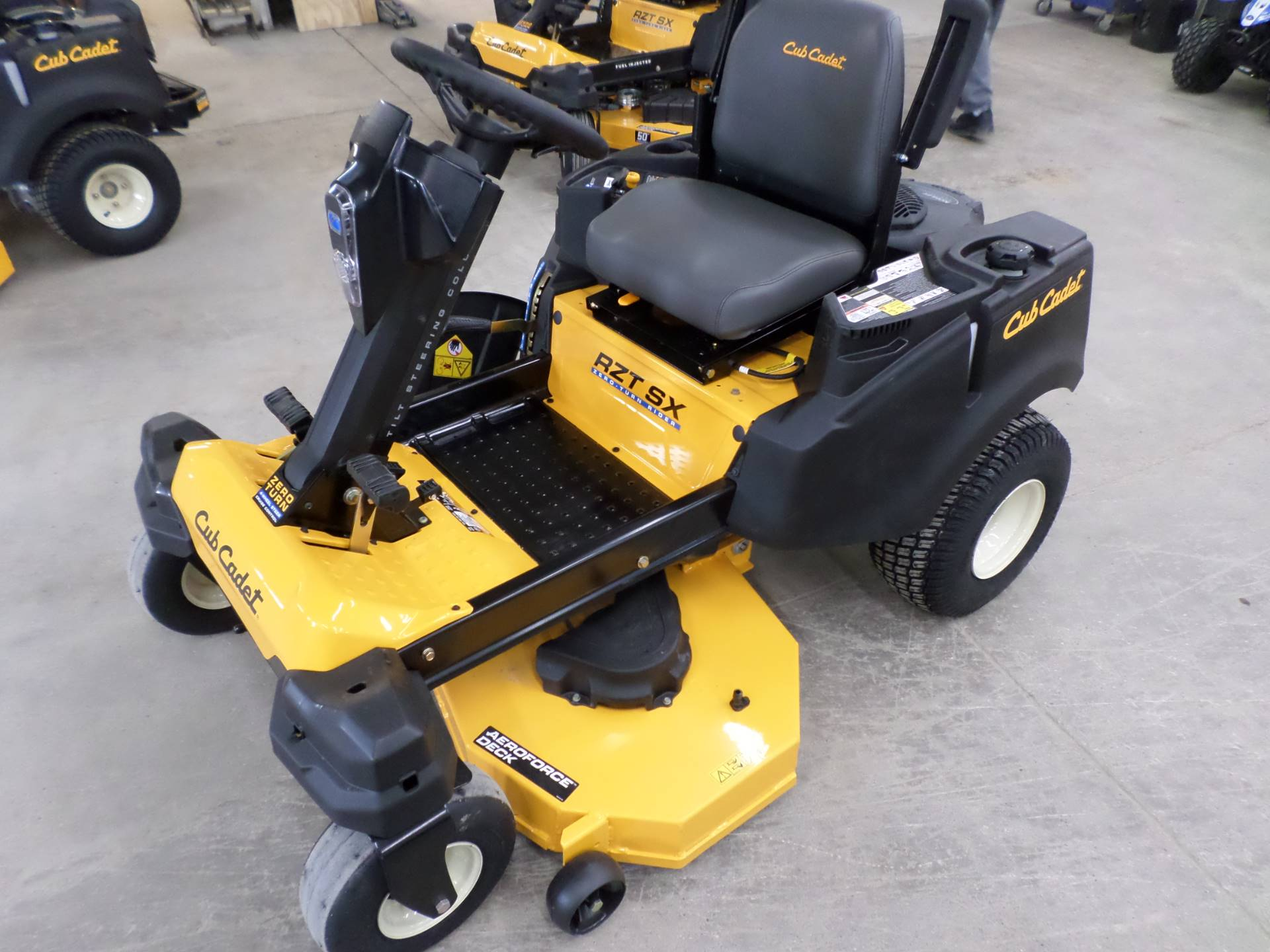 2019 Cub Cadet RZT SX 46 in. Cub Cadet 679 cc in Lake Mills, Iowa - Photo 1