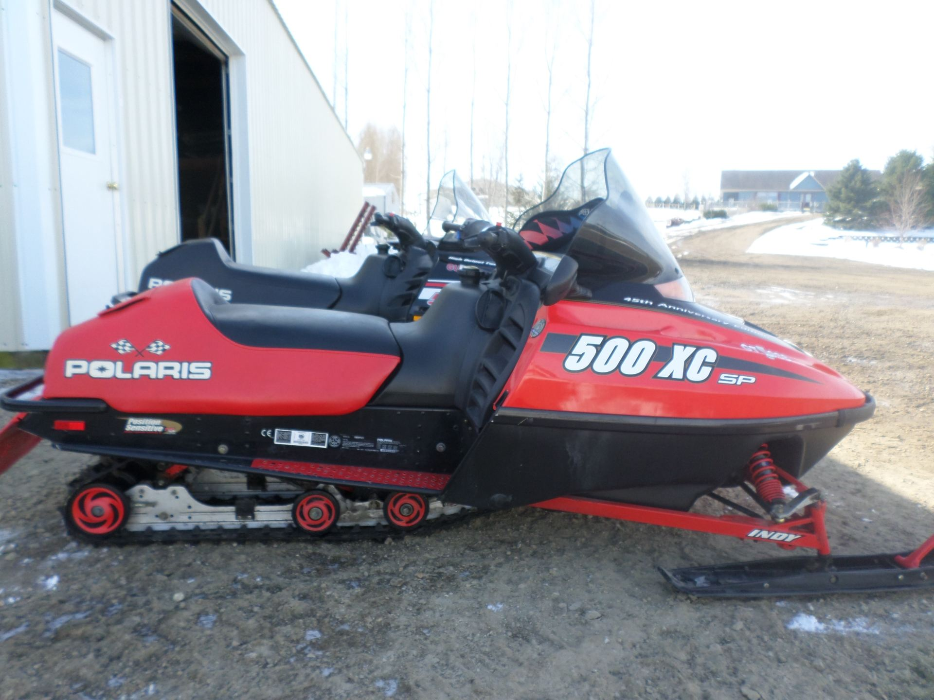 2000 Polaris Indy 500 XC SP 45th Anniversary Edition for sale 582