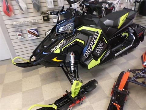 2018 Polaris 800 RUSH PRO-S SnowCheck Select in Lake Mills, Iowa