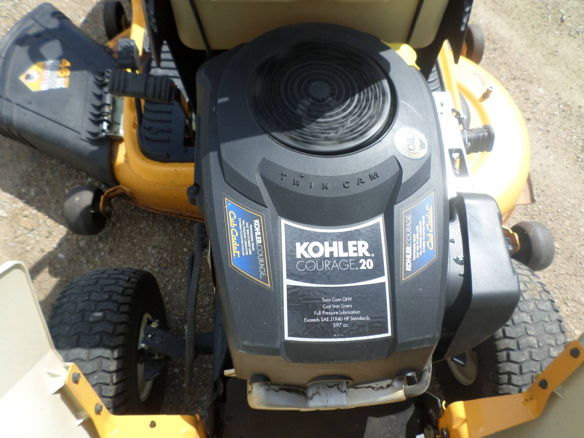 2010 Cub Cadet LTX 1045 in Lake Mills, Iowa - Photo 4