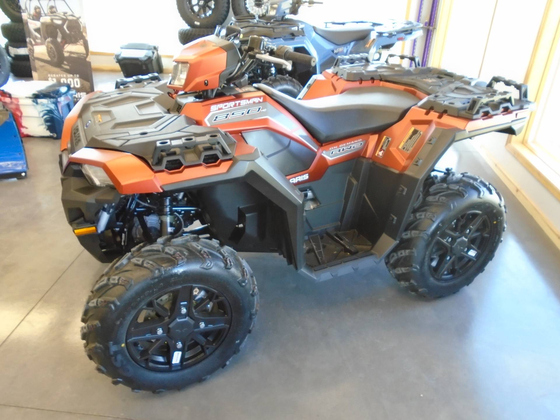 2021 Polaris Sportsman 850 Premium in Lake Mills, Iowa - Photo 1