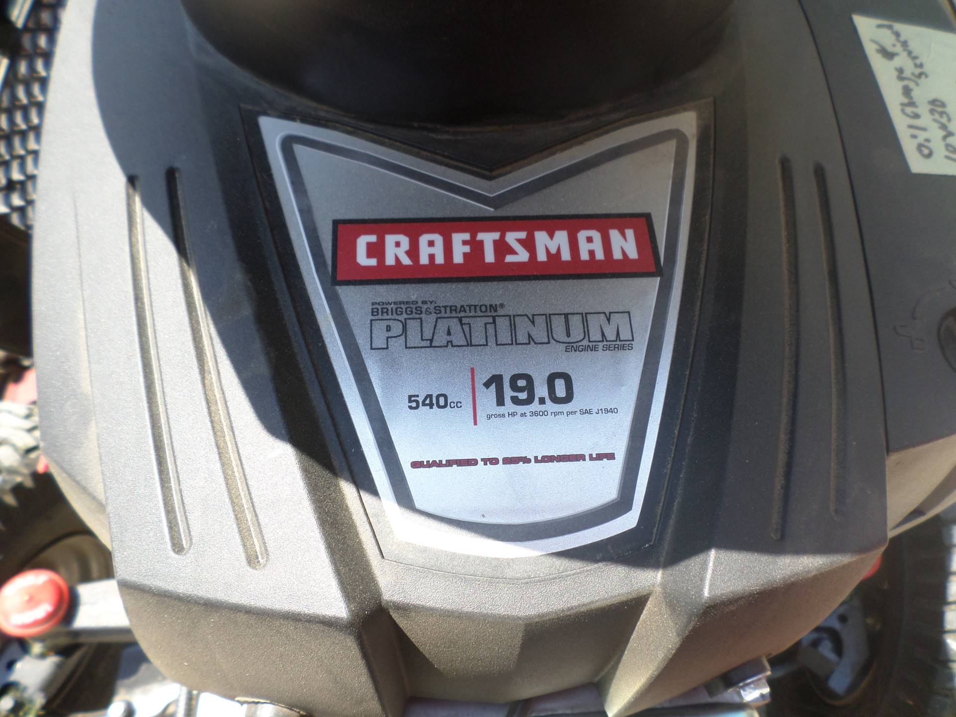 2016 Craftsman T2400 in Lake Mills, Iowa