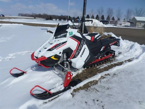 2016 Polaris 800 Pro-RMK 155 SnowCheck Select in Lake Mills, Iowa