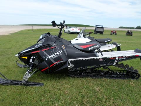 2015 Polaris 800 Pro-RMK® LE 163  F&O SC in Lake Mills, Iowa