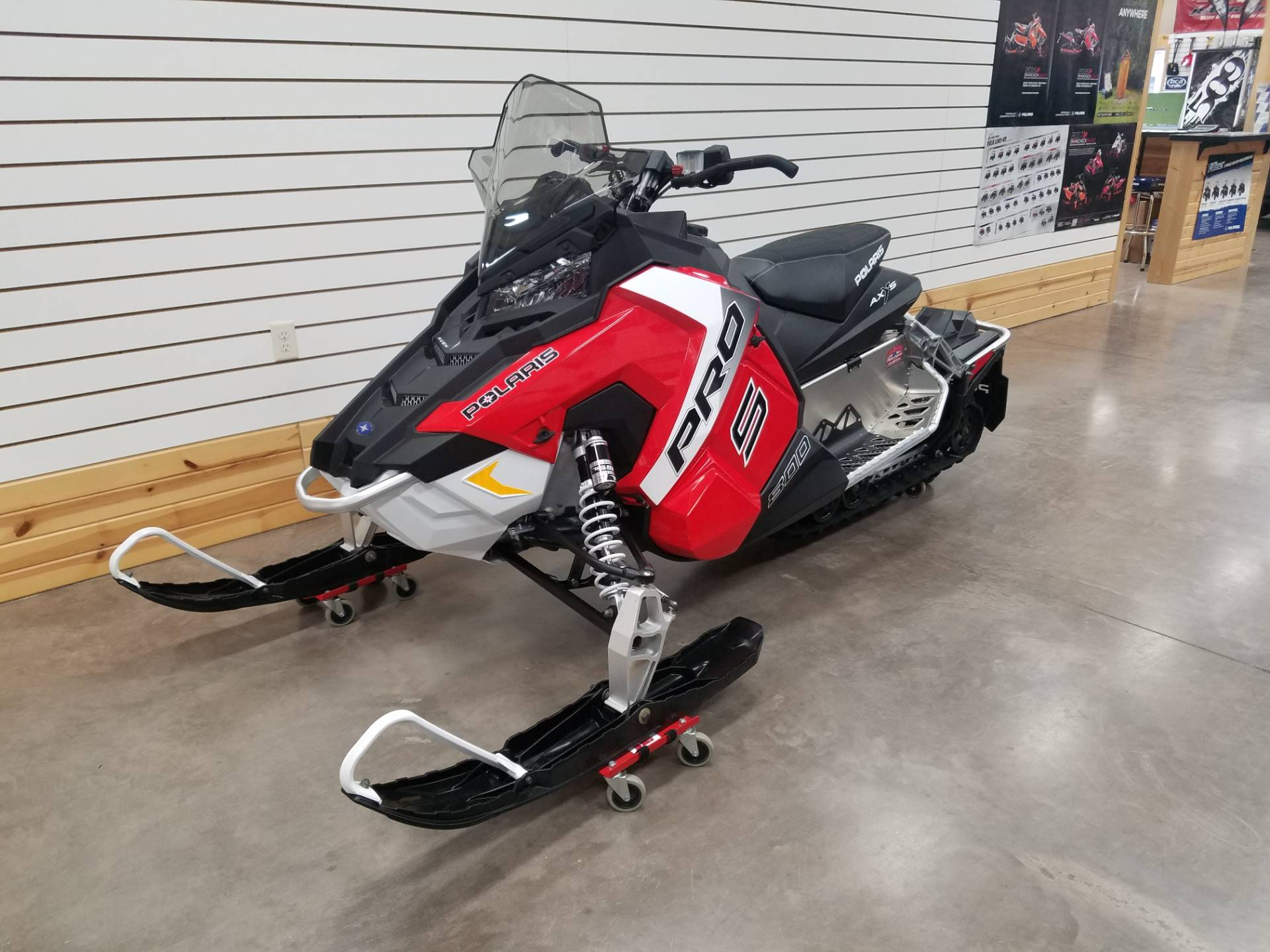 new 2017 polaris 800 rush pro s es snowmobiles in algona ia stock