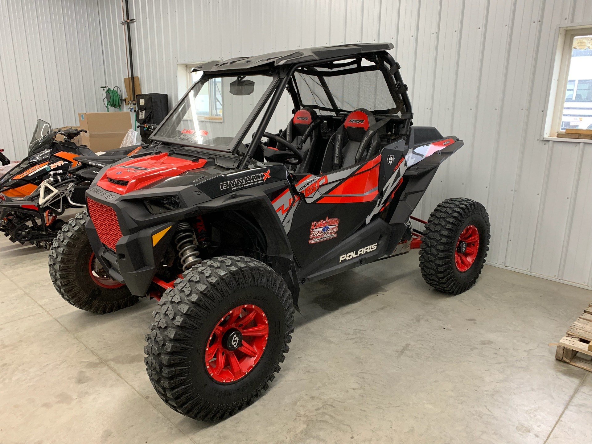 2018 Polaris RZR XP Turbo EPS Dynamix Edition in Algona, Iowa - Photo 5