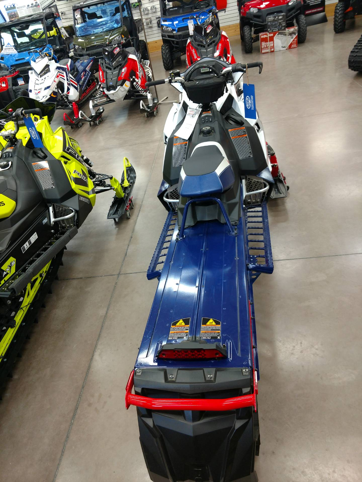 2017 Polaris 800 PRO-RMK 155 3 in. SnowCheck Select in Algona, Iowa