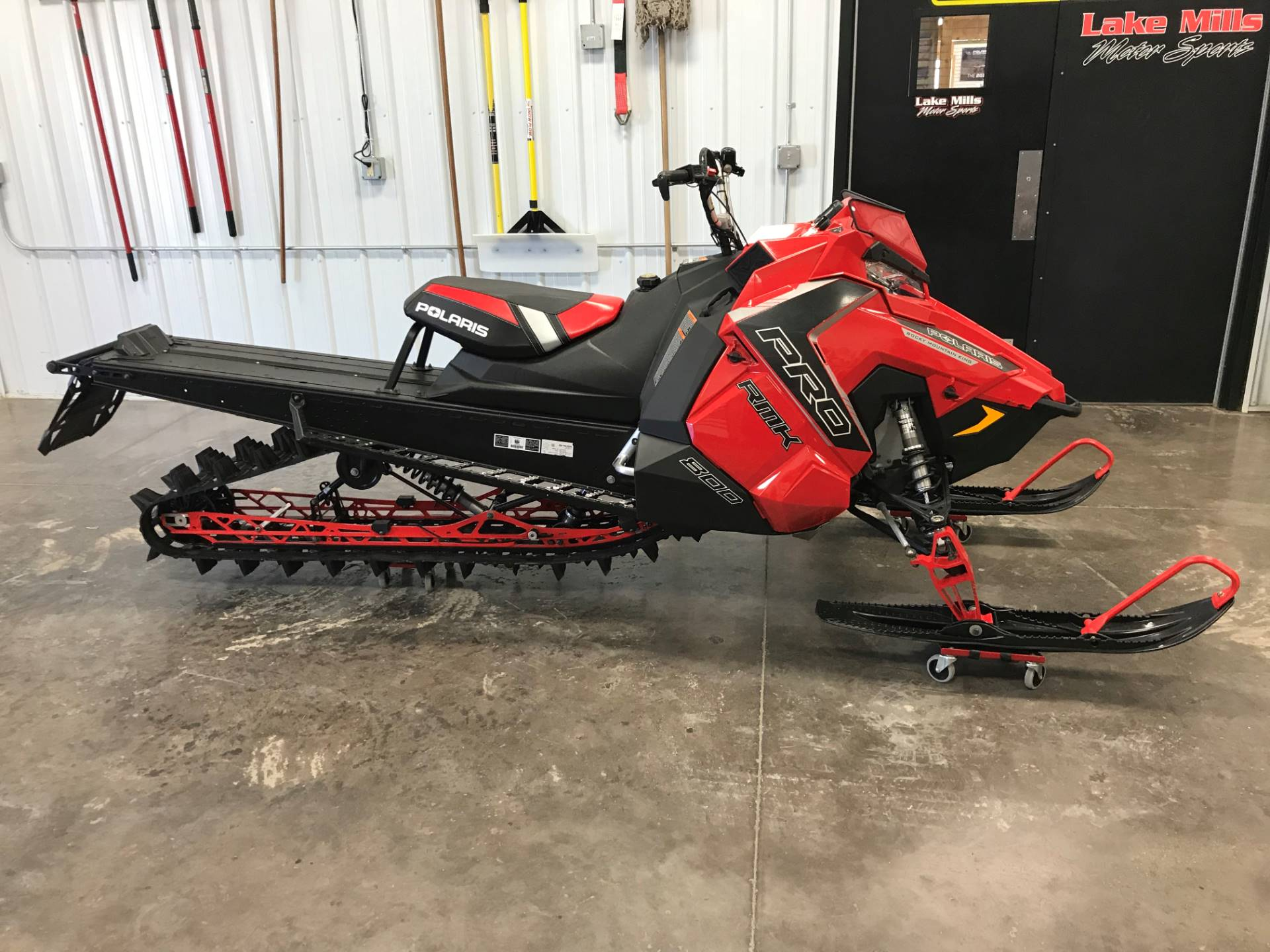 2016 Polaris 800 Pro Rmk 155 Snowcheck Select In Algona Iowa