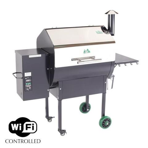 1900 Green Mountain Grills Daniel Boone WIFI Stainless lid starting at $759 call in South Hutchinson, Kansas