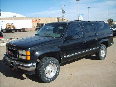 1995 GMC GMC SUBURBAN 4x4 diesel in South Hutchinson, Kansas