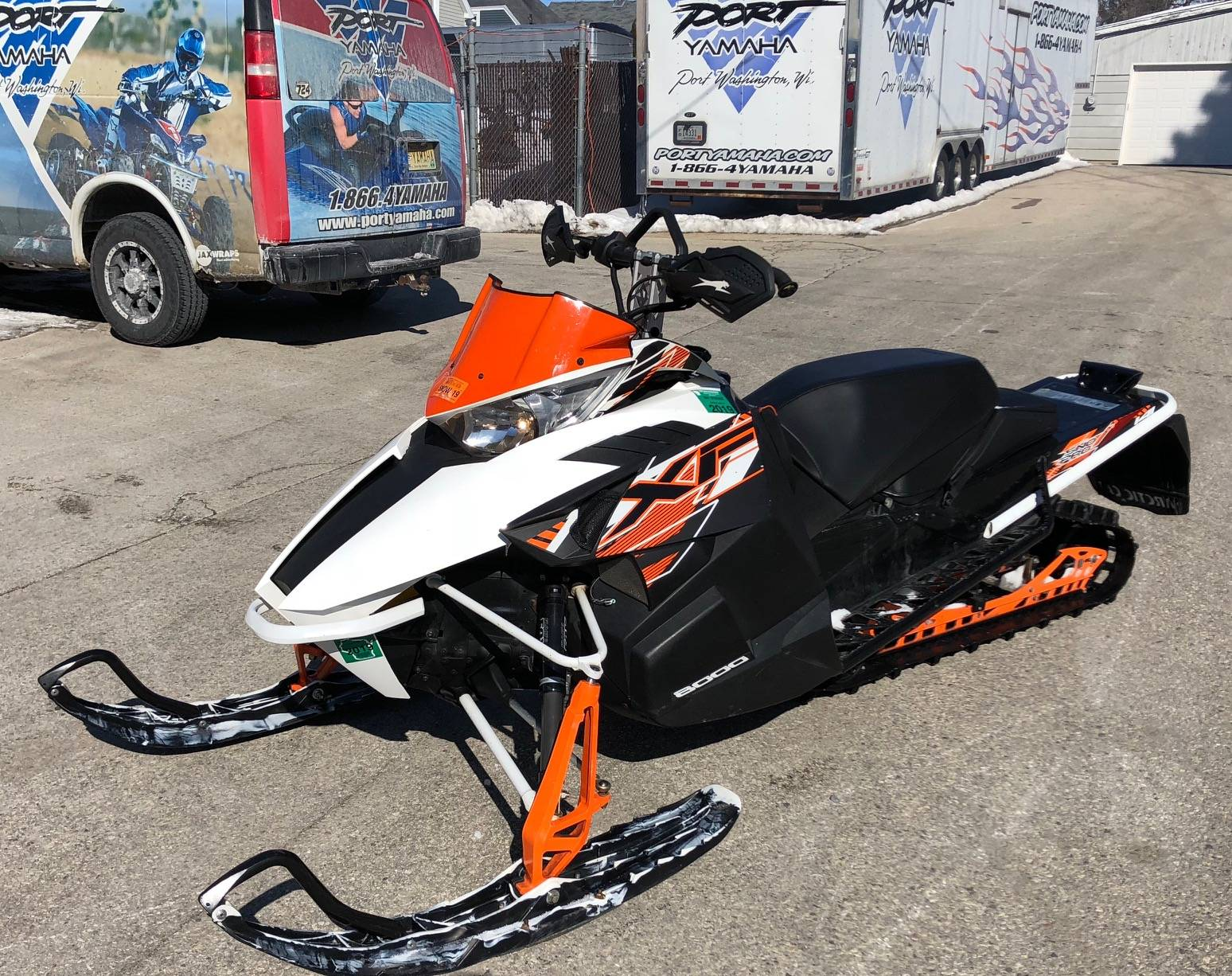 2015 Arctic Cat XF 8000 Cross Country™ in Port Washington, Wisconsin - Photo 3