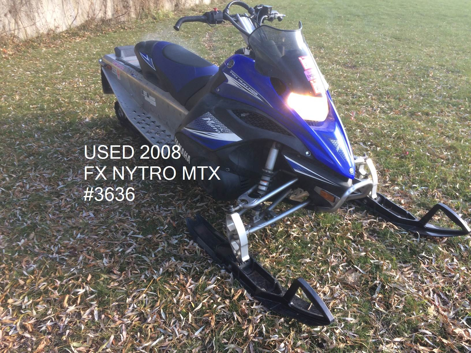 2008 Yamaha FX Nytro MTX In Port Washington Wisconsin