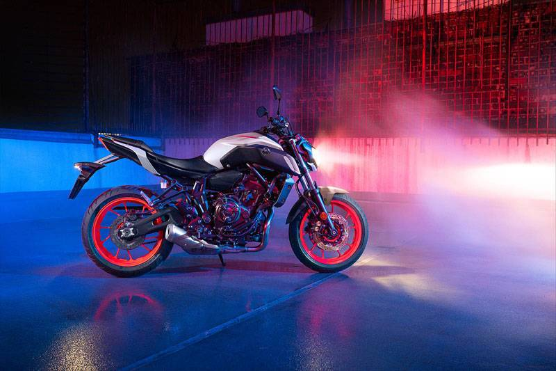 2020 Yamaha MT-07 in Port Washington, Wisconsin