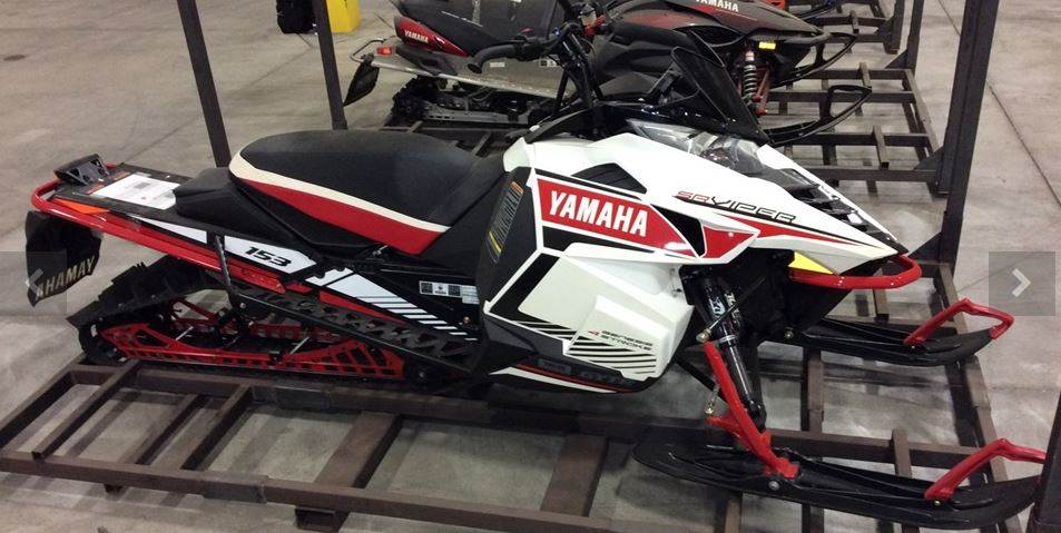 2016 yamaha srviper m tx 153 le for sale port washington for Used yamaha snowmobiles for sale in wisconsin