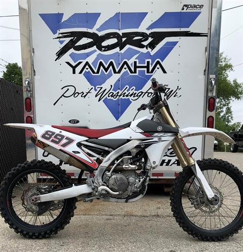 2014 Yamaha YZ450F in Port Washington, Wisconsin