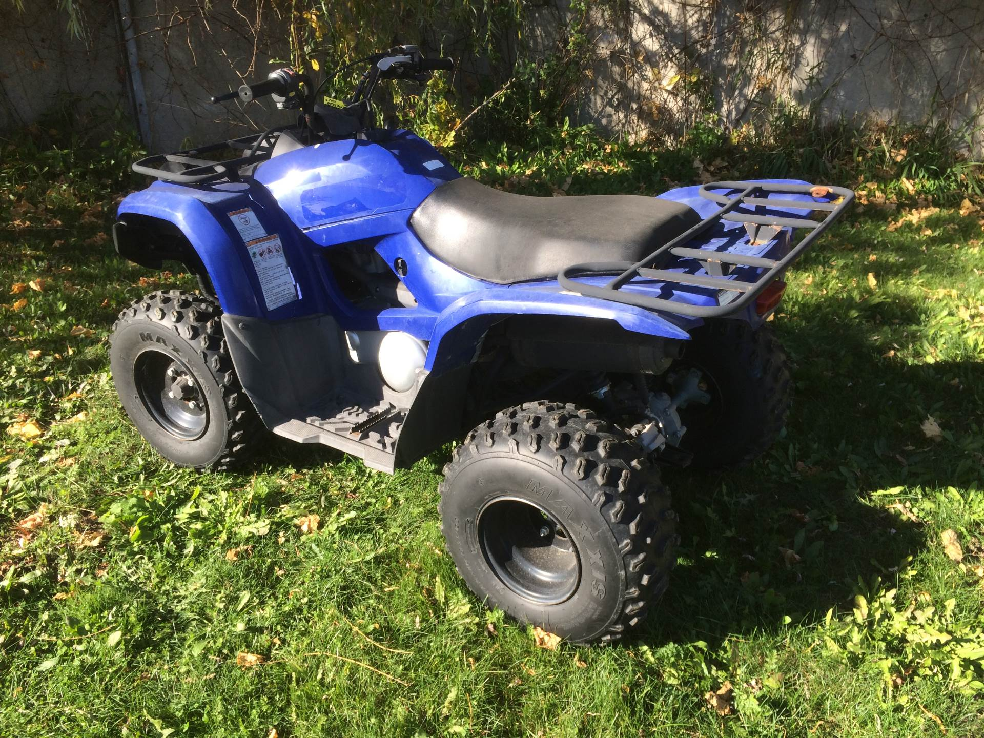 2012 Yamaha Grizzly 300 Automatic in Port Washington, Wisconsin