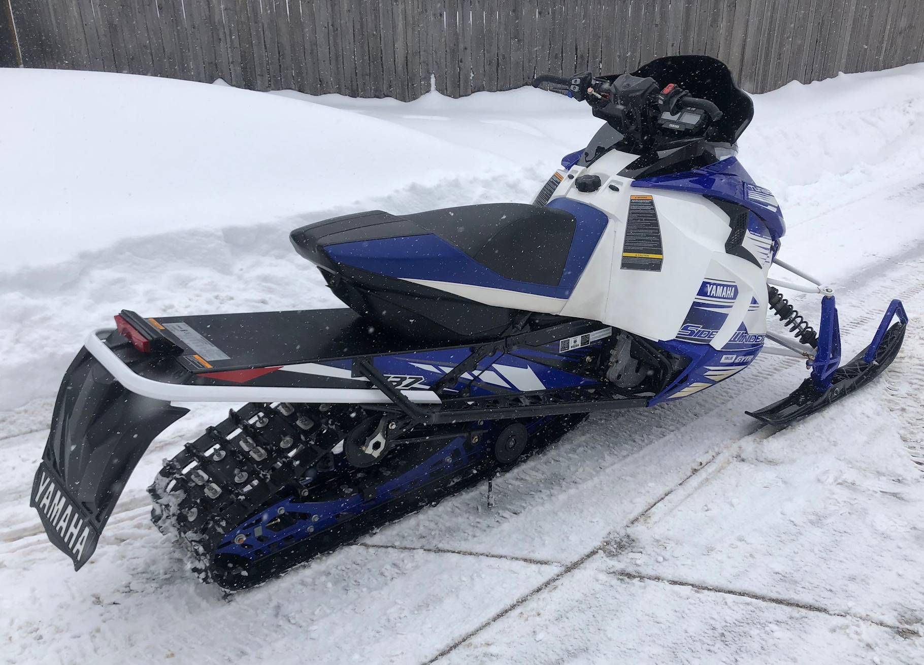 2017 Yamaha Sidewinder L-TX SE in Port Washington, Wisconsin