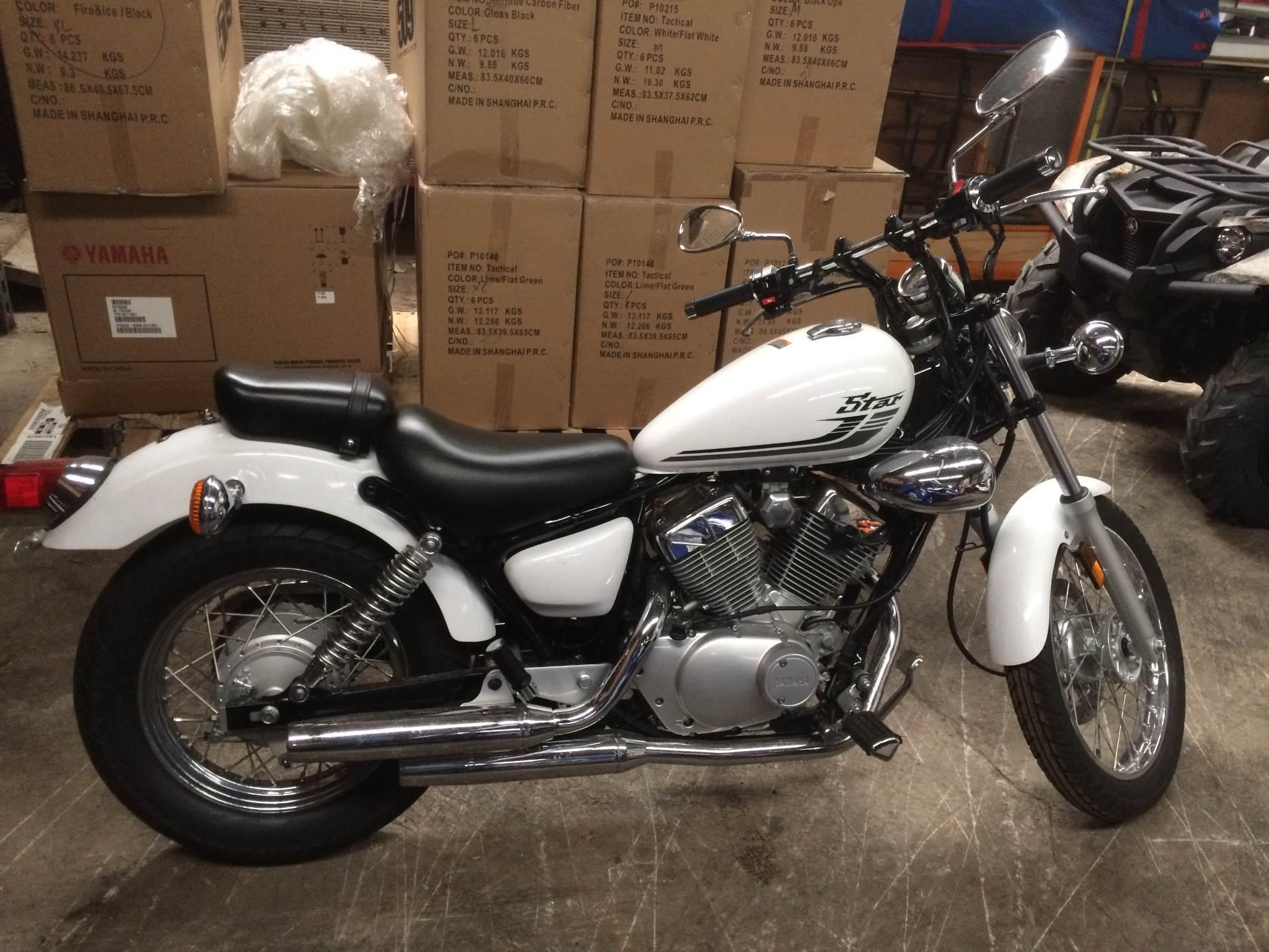New 2016 Yamaha V Star 250 Motorcycles in Port Washington, WI ...