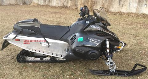 2010 Yamaha FX Nytro in Port Washington, Wisconsin