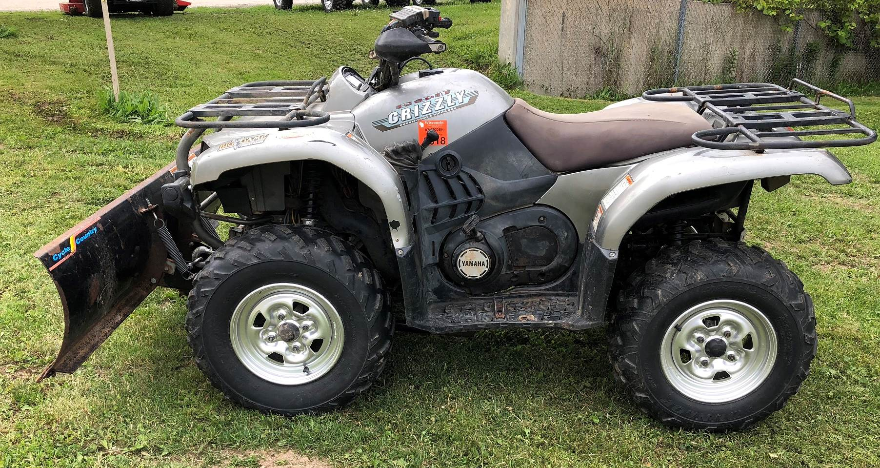 Yamaha Grizzly 660 >> Used 2002 Yamaha Grizzly 660 Atvs In Port Washington Wi Stock
