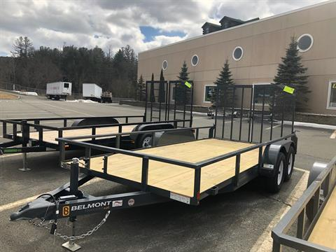 2019 Belmont Trailers LLC UT616TA-7K in Honesdale, Pennsylvania